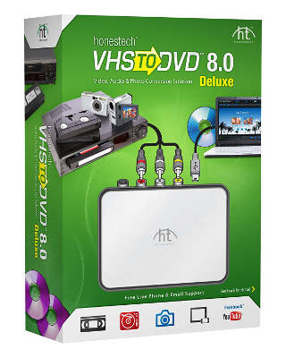 VIDBOXZ VHS to DVD