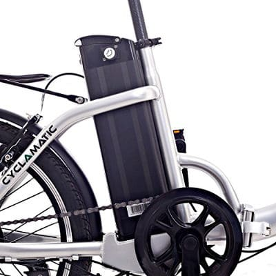 8.	Cyclamatic CX2 Bicycle Electric Foldaway Bike with Lithium-Ion Battery
