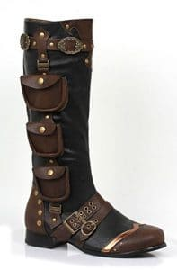 Steampunk Boots with pouches