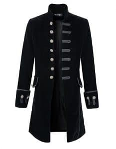 Steampunk Jacket Black Felt