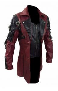 Steampunk Jacket red