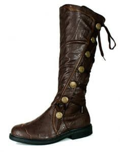 Steampunk boots Brown