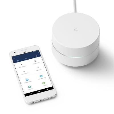GOOGLE WI-FI SYSTEM ROUTER REVIEW with phone