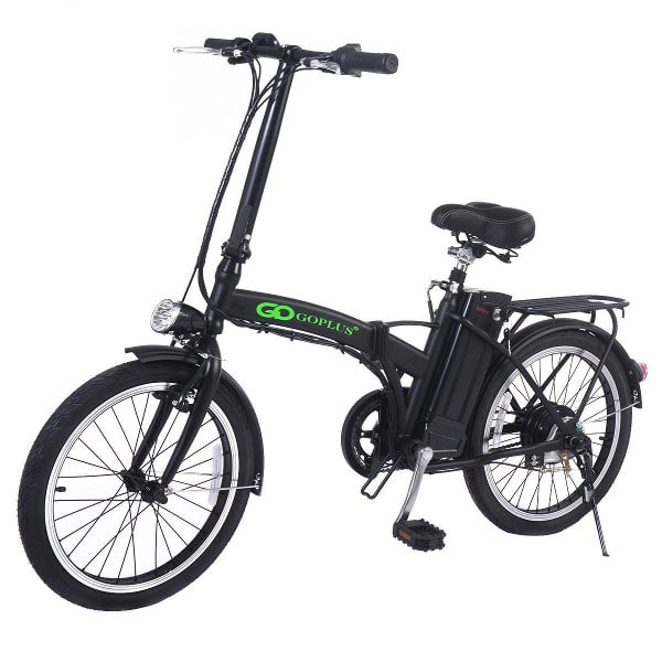 GOPLUS 20″ 250W FOLDING ELECTRIC BIKE