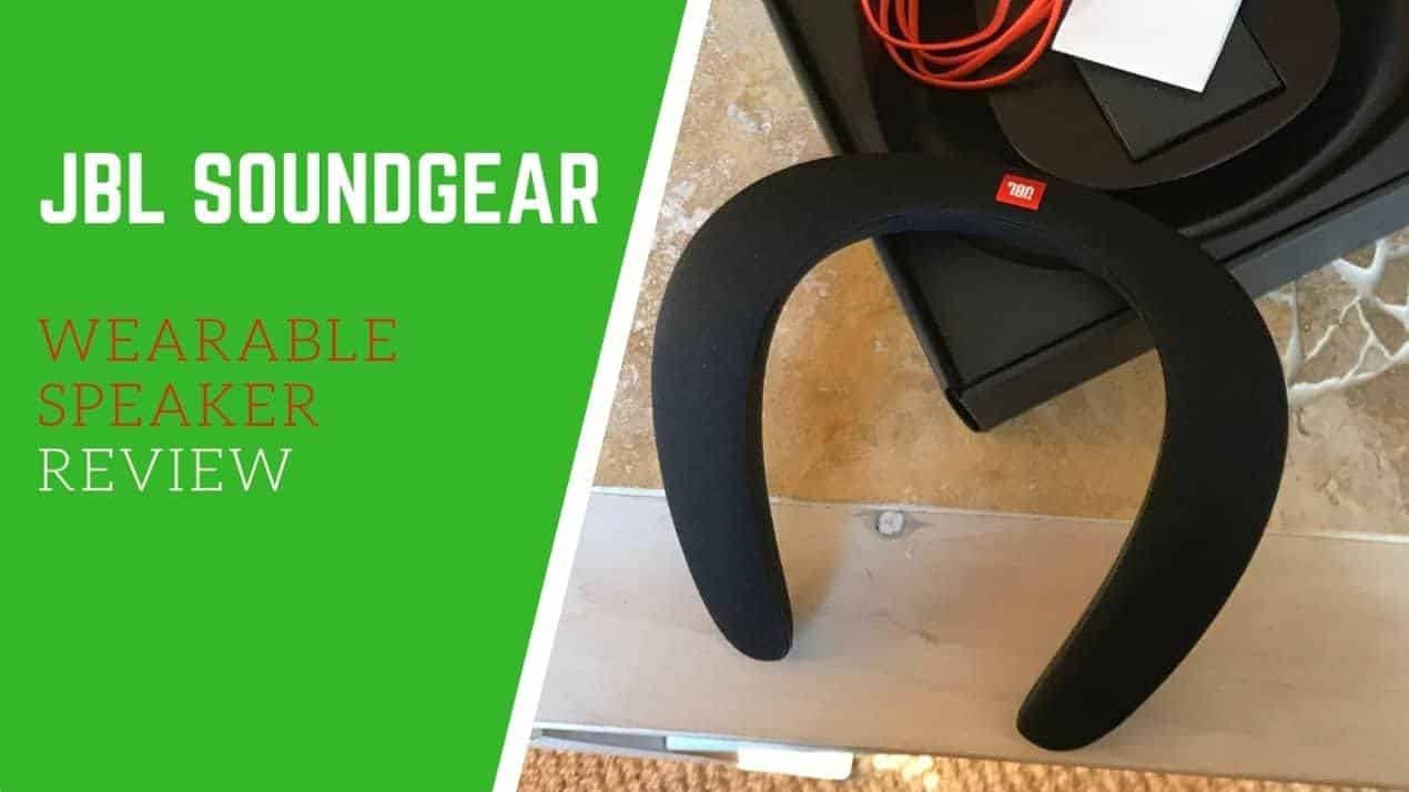 JBL Soundgear Wearable Speaker Review