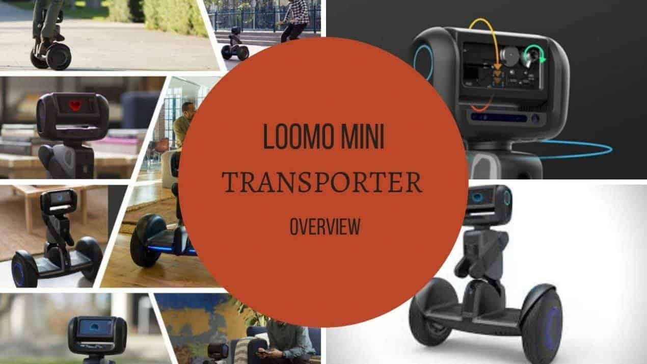 LOOMO Mini Transporter Overview