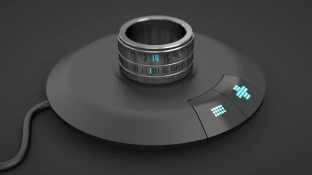 Ring Clock wireless charger