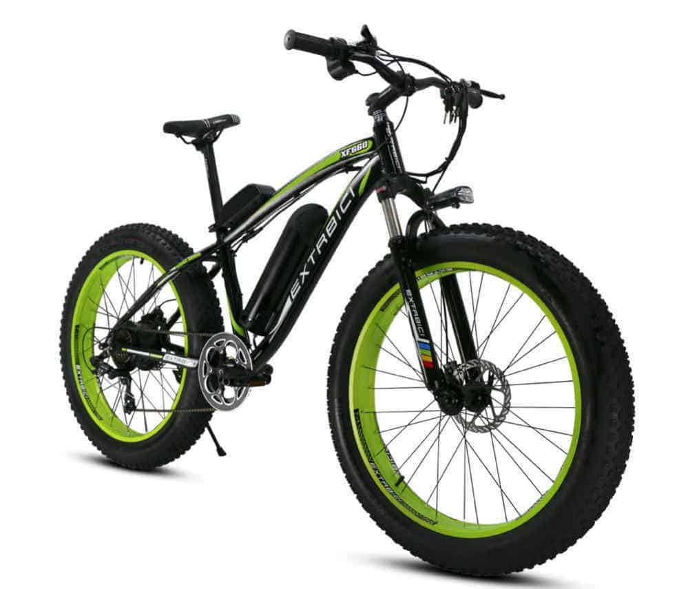Extrbici Electric Bike Cruiser Bicycle XF660 1000W Motor 48V