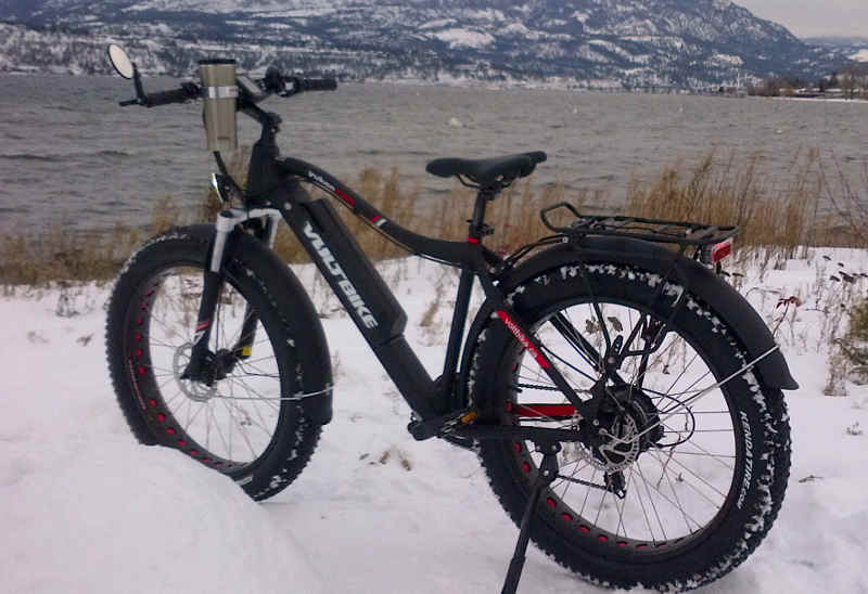 Voltbike Yukon in the snow