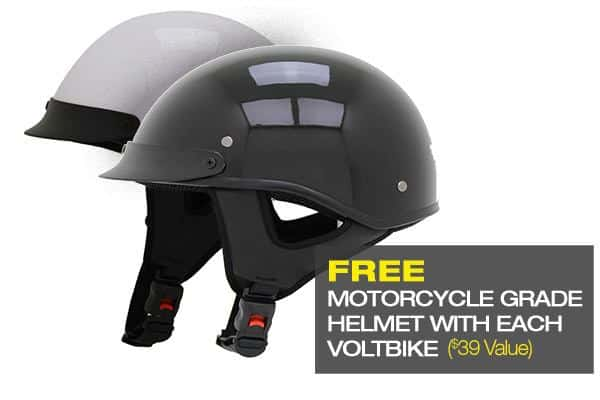 Free Helmet with every E bike