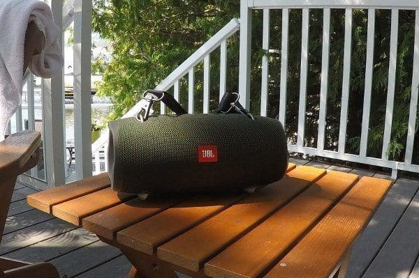 JBL XTREME 2 WATERPROOF SPEAKER at the lake