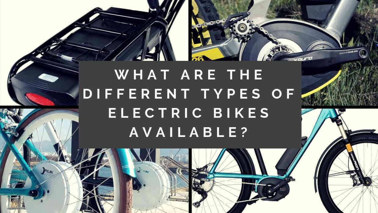 What are the different types of electric bikes available
