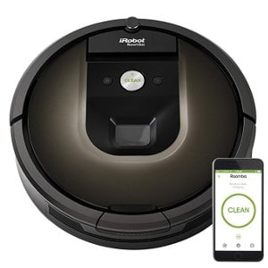 iRobot Roomba 980 Robot Vacuum with Wi-Fi Connectivity,