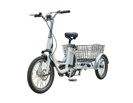 RMB EV Libert-e Adult Electric Pedal Trike:Tricycle with Dual Rear Wheel Power