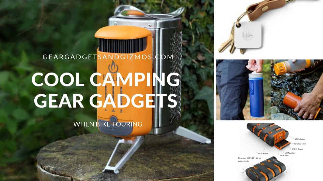 COOL CAMPING GEAR GADGETS WHEN BIKE TOURING