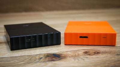 WD 1TB Orange My Passport  Portable External