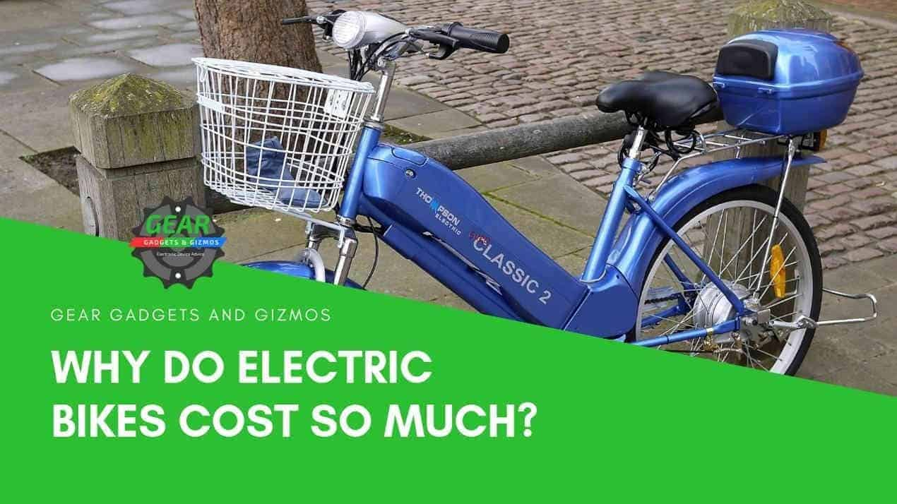 WHY DO ELECTRIC BIKES COST SO MUCH