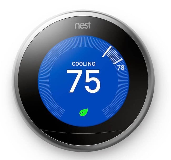 Nest smart Thermostat with google home