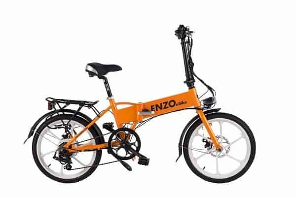 Enzo E-Bike Folding Electric Bicycle