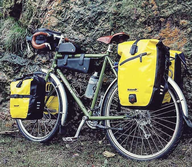 Pannier bags front or back