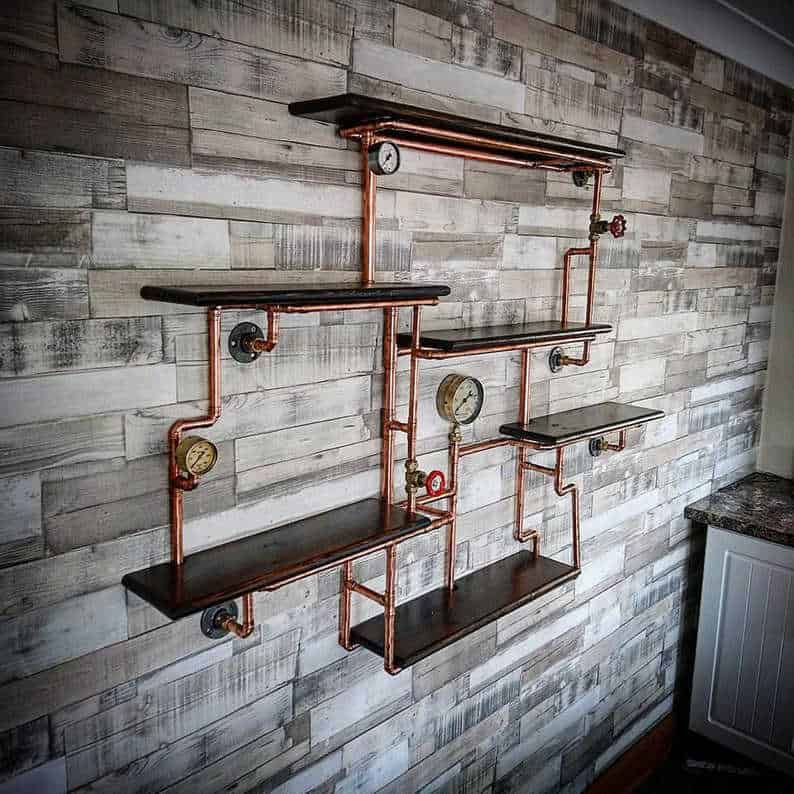 Steampunk Shelves