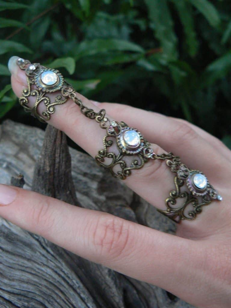Steampunk rings
