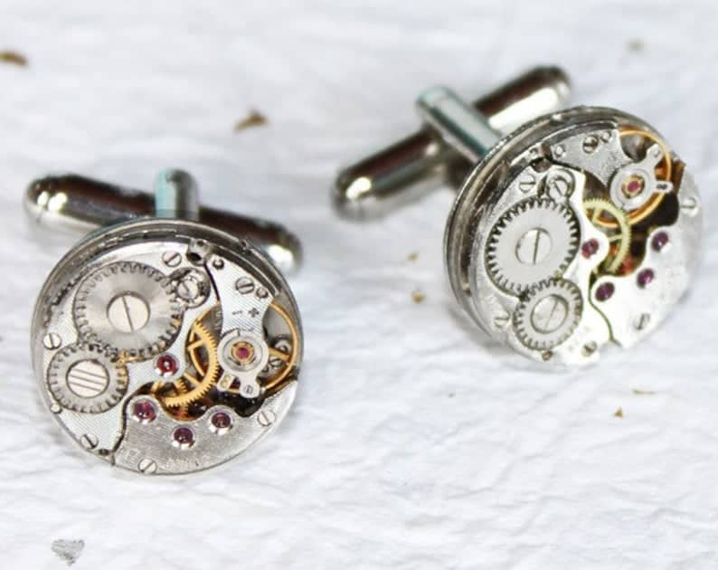 Steampunk Men's Cufflinks