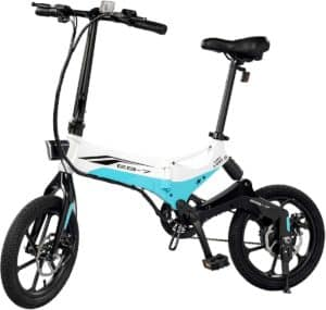 Swagtron Swagcycle EB-7 Elite Folding Electric Bike Roll over image to zoom in Swagtron Swagcycle EB-7
